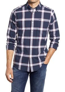 Men's Barbour Collins Tailored Fit Plaid Button-Down Shirt