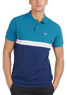Men's Barbour Colorblock Polo Shirt