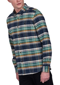Men's Barbour Rocky Slim Fit Check Flannel Shirt