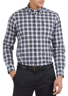 Men's Barbour Tailored Fit Highland Check Button-Down Shirt
