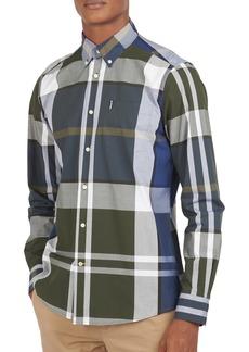 Men's Barbour Tailored Fit Tartan Button-Down Shirt