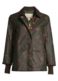 Barbour Modern Country Feather Tawny Waxed Jacket