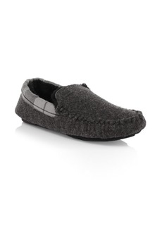 Barbour Monty Faux Shearling Moccasins