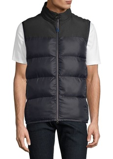 Barbour Nautical Blank Puffer Vest