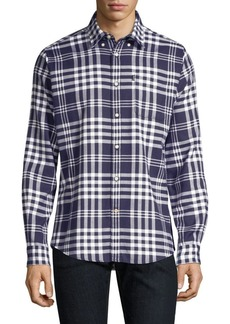 Barbour Nautical Endsleigh Check Button-Down Shirt