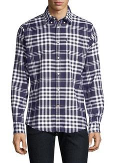 Barbour Nautical Endsleigh Check Button-Down Shirt
