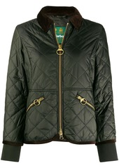 Barbour quilted bomber jacket
