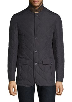 Barbour Quilted Button-Front Jacket