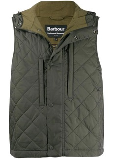 Barbour quilted hooded gilet
