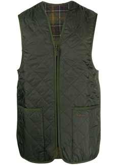 Barbour quilted reversible gilet