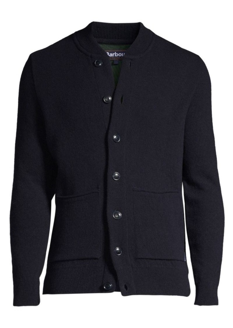 Barbour Regular-Fit Tartan Witton Knit Jacket