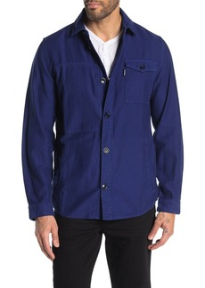 Barbour Seaton Woven Button Jacket