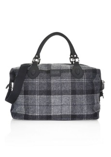 Barbour Shadow Tartan Explorer Duffel Bag
