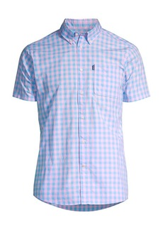 Barbour Shirt Shop Gingham Short-Sleeve Shirt