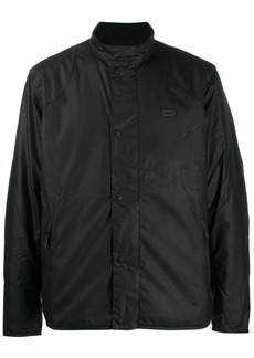 Barbour snap button padded jacket