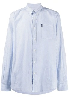 Barbour striped button-down shirt