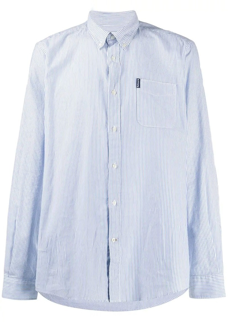 Barbour striped button-down shirt