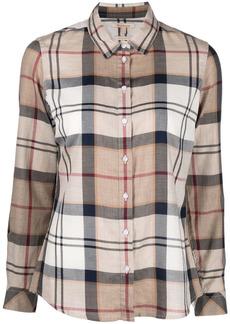 Barbour tartan check-print shirt