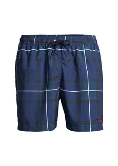 Barbour Tartan Swim Trunks