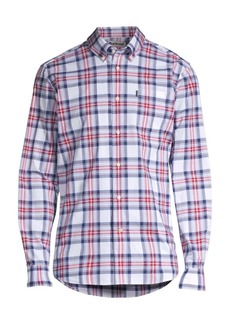 Barbour Tattersall Plaid Button-Down Shirt