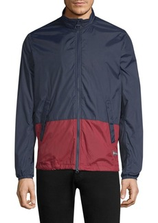 Barbour Two-Tone Lightweight Cotton Jacket