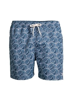 Barbour Wave Swim Trunks