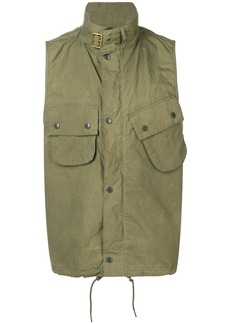 Barbour zipped gilet jacket
