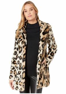 Bardot Animal Coat Faux Fur