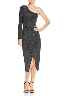 Bardot Avril Metallic One-Shoulder Dress - 100% Exclusive