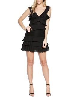 Bardot Babylon Ruffle Lace Minidress