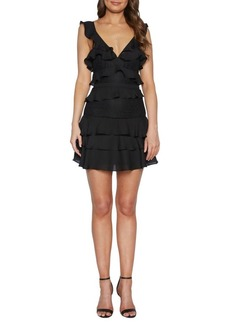 Bardot Babylon Ruffle Trimmed Dress