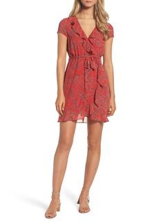 Bardot Bandana Print Wrap Dress