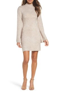 Bardot Bell Sleeve Knit Dress