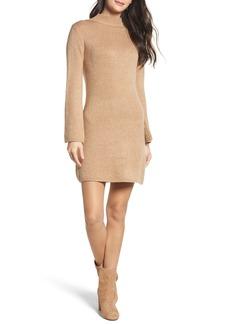 Bardot Bell Sleeve Knit Dress