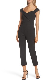 Bardot Bella Crop Jumpsuit