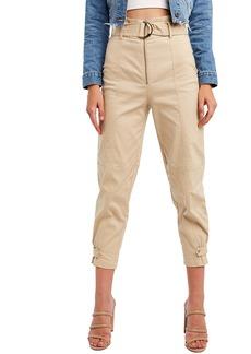 Bardot Belted Crop Pants