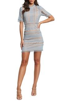 Bardot Brenda Lace Sheath Minidress