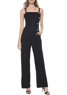 Bardot Button Jumpsuit