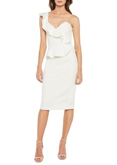 Bardot Camellia One-Shoulder Sheath Dress