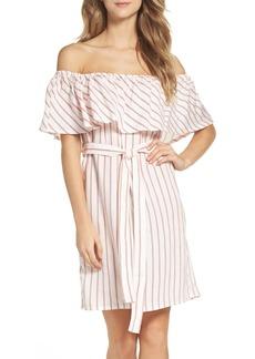 Bardot Capri Off the Shoulder Dress