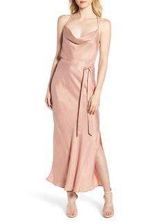Bardot Cara Cowl Neck Slip Dress