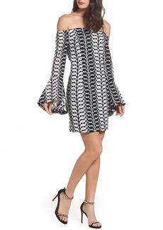 Bardot Chantelle Lace Off the Shoulder Dress