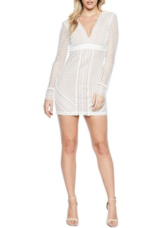 Bardot Clio Crochet Body-Con Dress
