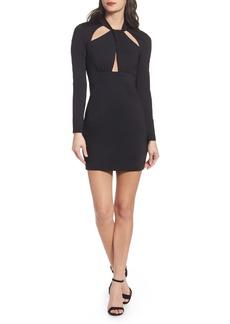 Bardot Cutout Body-Con Minidress