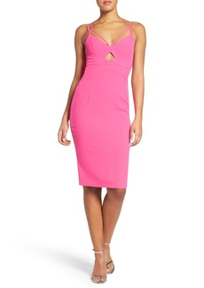 Bardot Cutout Midi Dress