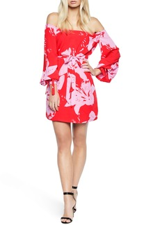 Bardot Dariela Off the Shoulder Minidress