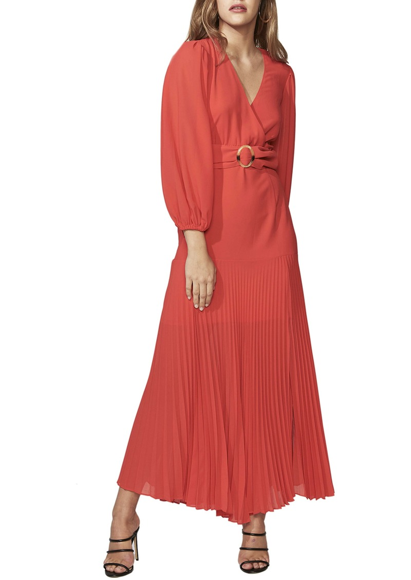 Bardot Daytona Long Sleeve Maxi Dress