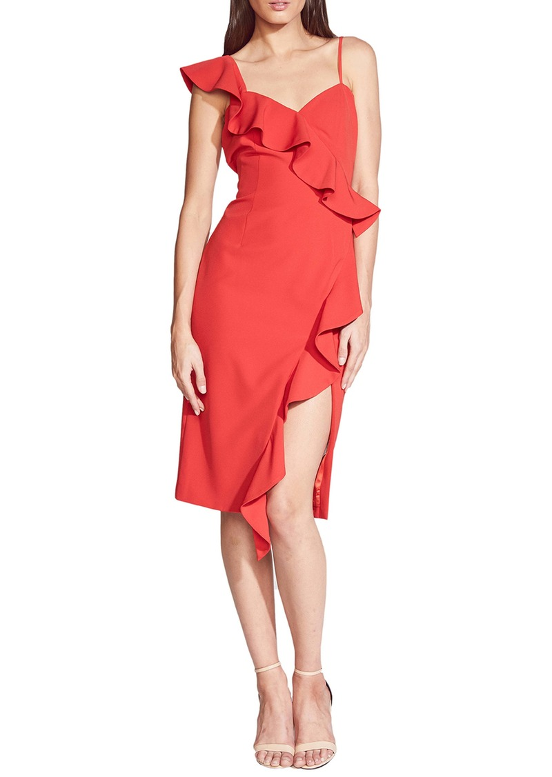 Bardot Destiny Ruffle Sheath Dress