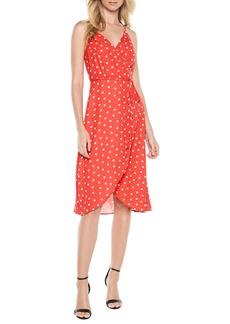 Bardot Dotted Wrap Dress