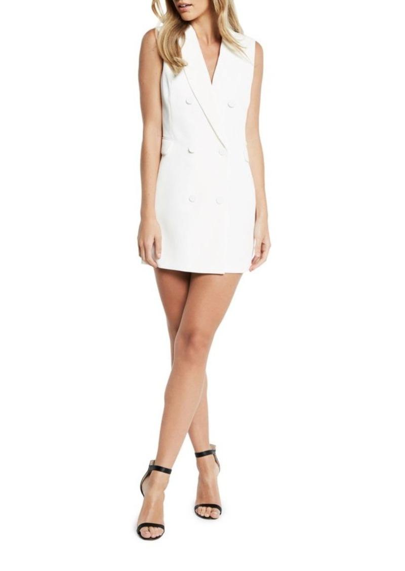 0d02b1efdd Bardot Bardot Double-Breasted Sleeveless Blazer Dress